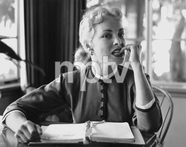 Janet Leigh at home, 7/12/55 © 1978 Sid Avery - Image 0194_0143