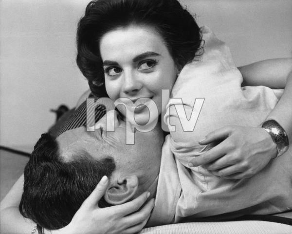 "Natalie Wood and Efrem Zimbalist Jr. in ""Bombers B-52""1957 Warner BrothersPhoto by Bert Six** B.D.M. - Image 0286_0773"