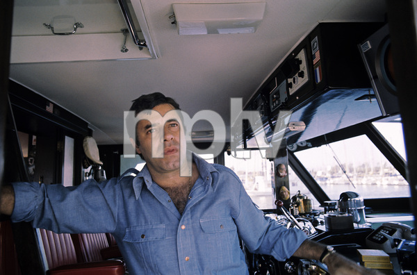 Jerry Lewis aboard his 60 foot yacht Princess Two1972 © 1978 Gunther - Image 0292_0509