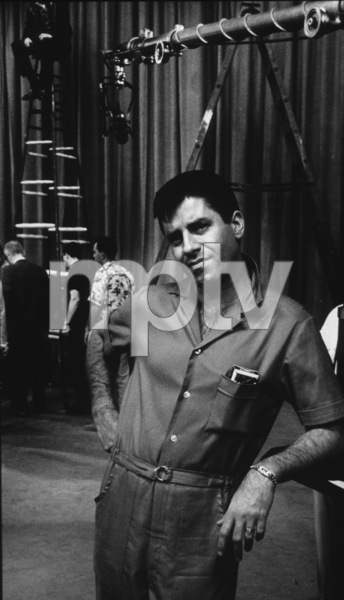 Jerry Lewis rehearsal for NBC TV Show, 1960. Photo: Ernest Reshovsky © 1978 Marc Reshovsky - Image 0292_0518