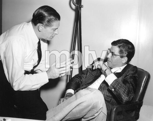 Jerry Lewis and Milton Berlecirca 1959 © 1978 Bud Fraker - Image 0292_0551