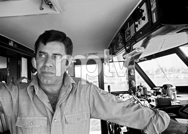 Jerry Lewis aboard his 60 foot yacht Princess Two1972 © 1978 Gunther - Image 0292_0559