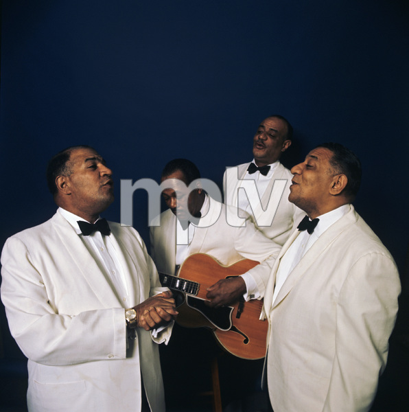 """The Mills Brothers""Herbert Mills, Harry Mills, Donald Mills, Bernard Addison 1965 © 1978 Ken Whitmore - Image 0297_0002"