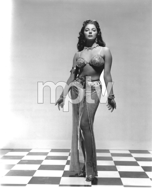 "Joan Collins""Land Of the Pharohs""1955 Warner BrothersPhoto by Bert Six - Image 0299_0020"