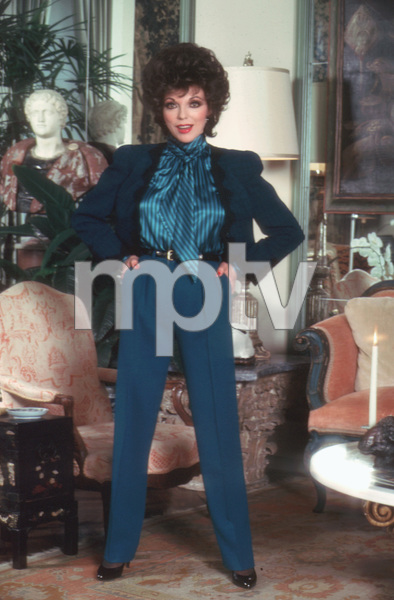 Joan Collins1985 © 1985 Mario Casilli - Image 0299_0125