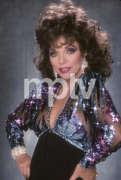 Joan Collins1989 © 1989 Mario Casilli - Image 0299_0142