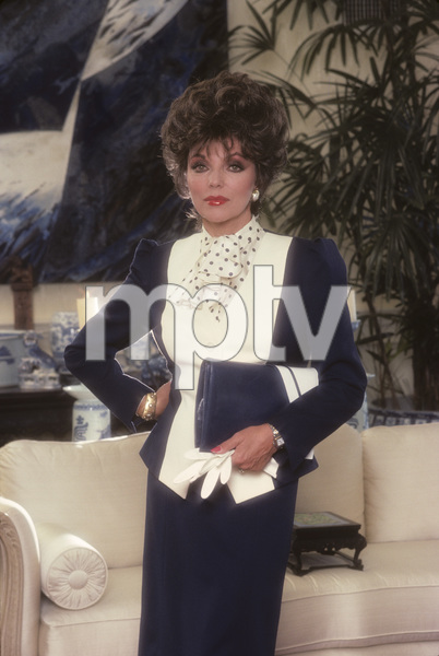 Joan Collins1985 © 1985 Mario Casilli - Image 0299_0144