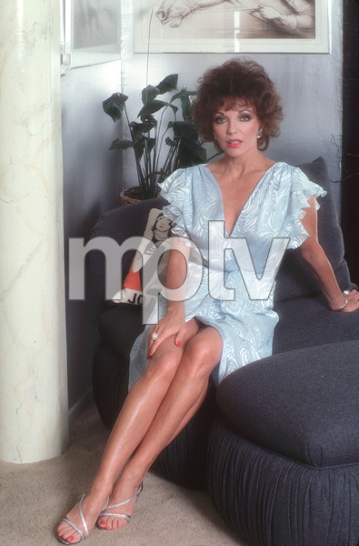 Joan CollinsMarch 1984 © 1984 Mario Casilli - Image 0299_0170