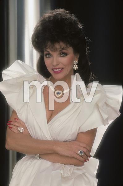 Joan Collins1985 © 1985 Mario Casilli - Image 0299_0183