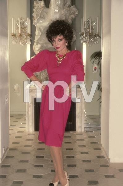 Joan Collins1985 © 1985 Mario Casilli - Image 0299_0226
