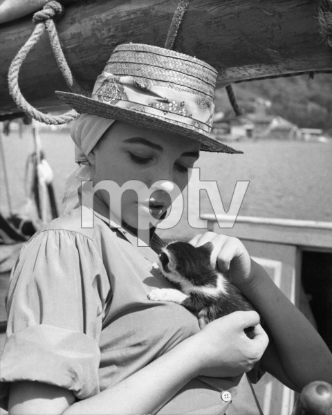 Joan Collins1957© 1978 Sid Avery - Image 0299_0235