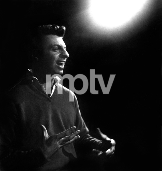 Mort Sahl performing at the