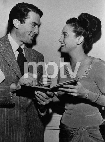Dorothy Lamourand Gregory Peckcirca 1948 - Image 0316_0044