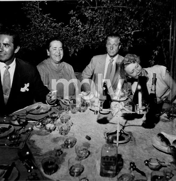 Tyrone Power, Elsa Maxwell, Duke & Duchess of Windsor1948Copyright John Swope Trust / MPTV - Image 0319_0171