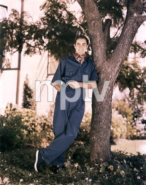 Tyrone Power, early 40