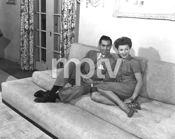 Tyrone Power and 2nd wife Linda Christian, 1949, I.V. - Image 0319_0187