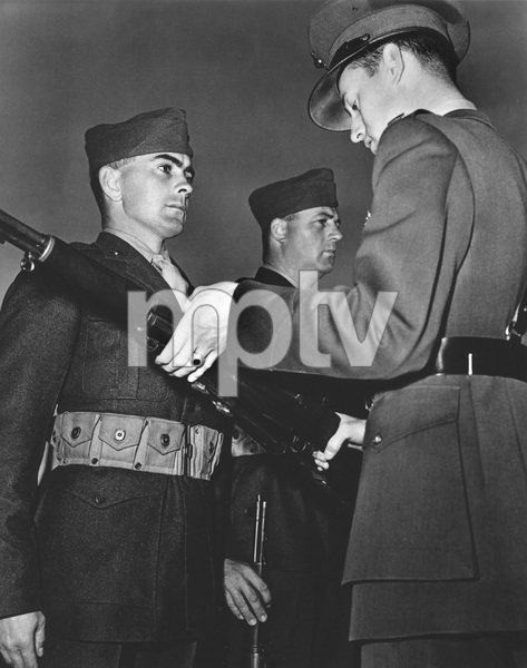 Tyrone Power during World War II ** I.V. - Image 0319_0192