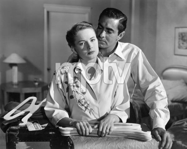 """Nightmare Alley"" Coleen Gray, Tyrone Power1947 20th Century Fox** I.V. - Image 0319_0203"