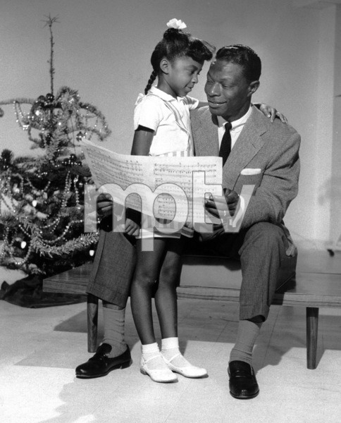 Nat King ColeWith Natalie Cole 1956 - Image 0321_0028