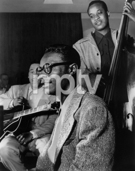 Nat King Colewith the Nat King Cole TrioOscar Moore, Wesley PrinceC. 1945Photo by William P. Gottlieb - Image 0321_0166