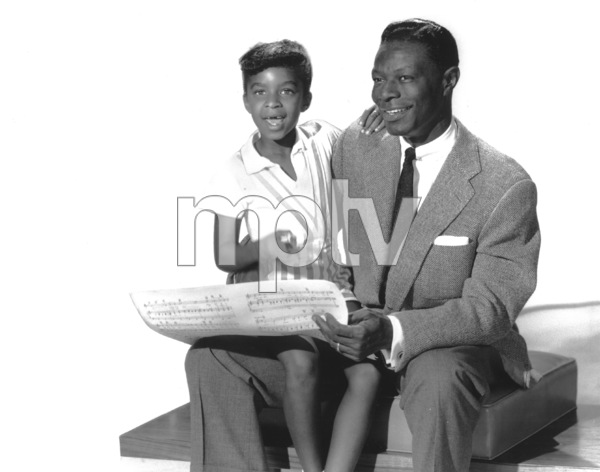 Nat King Cole With daughter Natalie1956 - Image 0321_0171