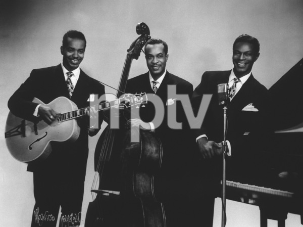 "Nat King Cole with Johnny Miller and Irving Ashby""The Nat King Cole Trio""circa 1947 © 1978 Maurice Seymour - Image 0321_0195"
