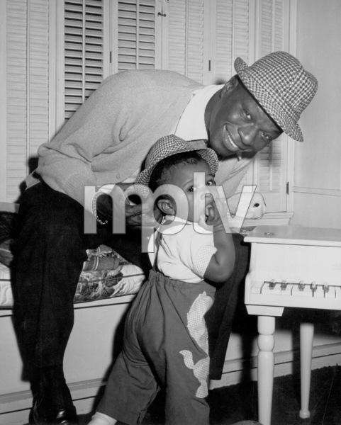 Nat King ColeWith his son Nat KellyCirca.1962 © 1978 David Sutton - Image 0321_0202