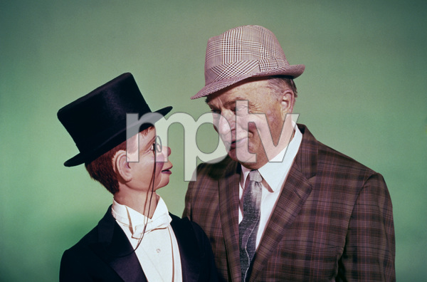 Edgar Bergen and Charlie McCarthycirca 1967 © 1978 Glenn Embree - Image 0322_0032