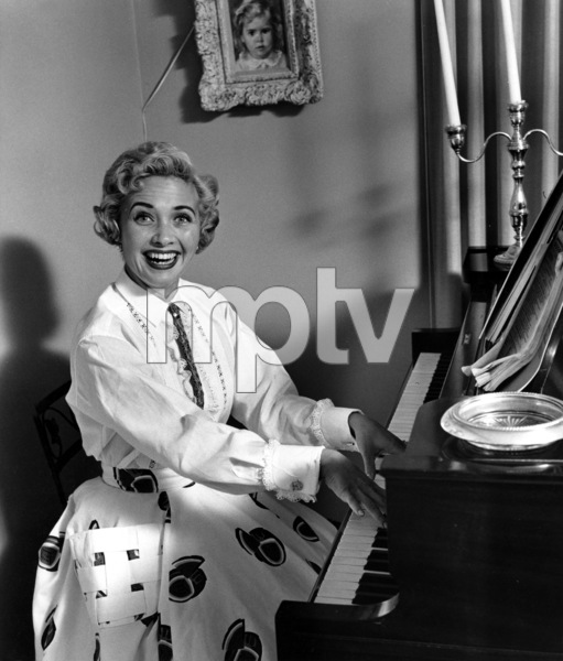 Jane Powell at homeApril 12, 1955 © 1978 Sid Avery - Image 0328_0192