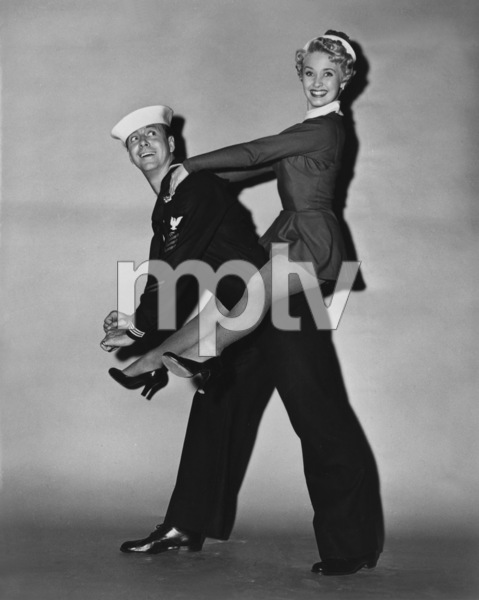 """Jane Powell and Gene Nelson in """"Three Sailors and a Girl""""1953 Warner BrothersPhoto by Jack Albin - Image 0328_0196"""