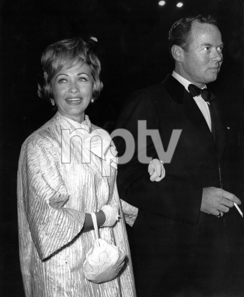 "Jane Powell and Patrick Nerney at ""Black Tights"" premiere1960Photo by Joe Shere - Image 0328_0198"