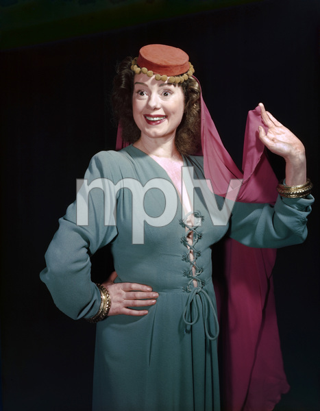Elsa Lanchester at the Turnabout Theatercirca 1950s© 1978 Herman V. Wall - Image 0329_0006