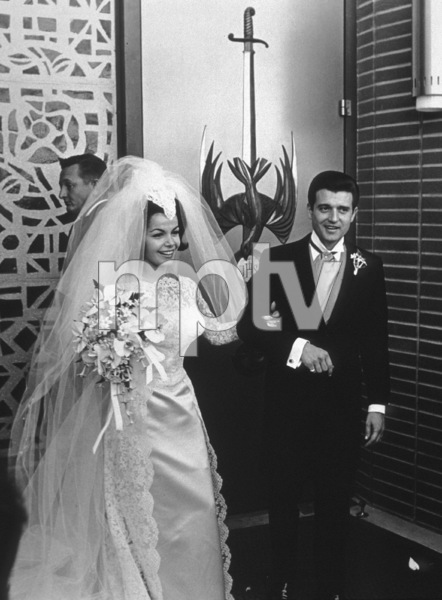 Annette Funicello with husband Jack Gilardi, 1965. © 1978 Gunther - Image 0330_0112