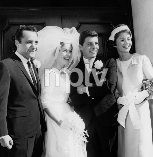 Frankie Avalon and wife Kathryn Diebel1962Photo by Joe Shere - Image 0331_0129