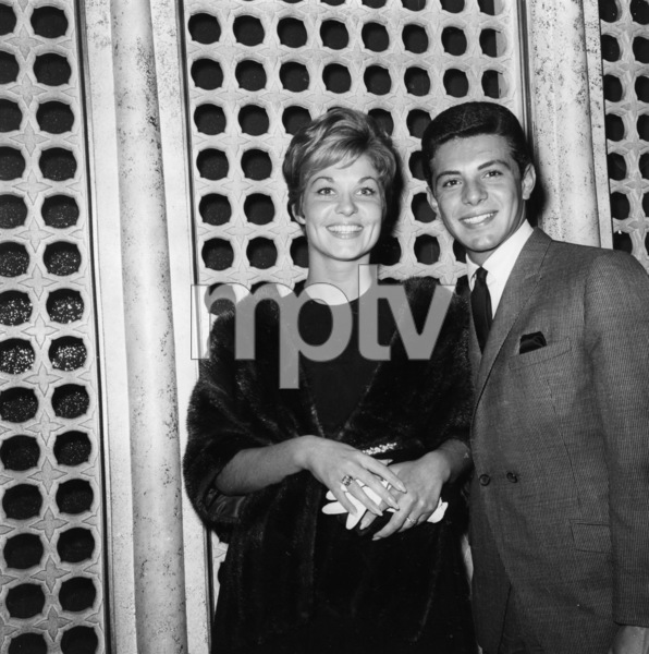Frankie Avalon with Kathryn Diebelcirca 1960sPhoto by Joe Shere - Image 0331_0131