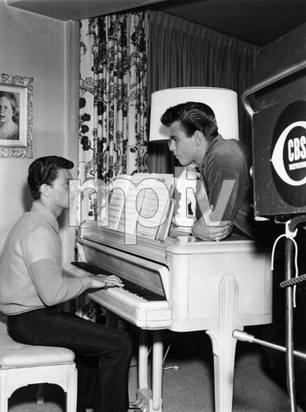 Frankie Avalon and Fabiancirca 1960sPhoto by Gabi Rona - Image 0331_0132