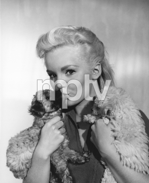 Tuesday Weld and her two poodlescirca 1960Photo by Joe Shere - Image 0335_0364