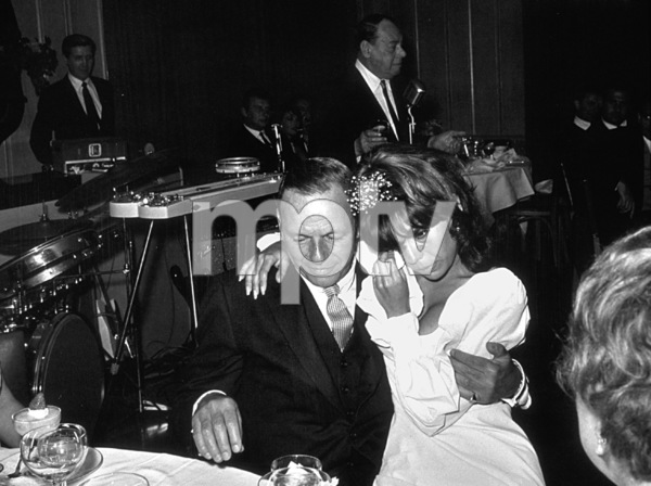 Nancy Sinatra at her 25th Birthday party with Frank Sinatra at Chasen