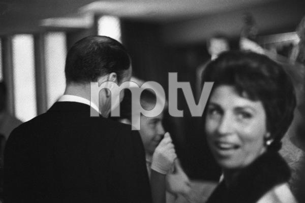 Nancy Sinatra Sr. and husband Frank Sinatra at Nancy Sinatra Jr.