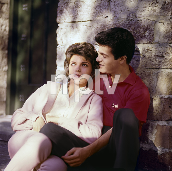 Nancy Sinatra and Tommy Sands1960© 1978 Sid Avery - Image 0336_0200