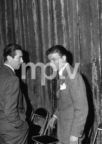 Frank Sinatra and Preston Fosterc. 1944 - Image 0337_0042