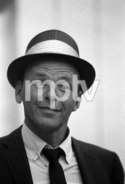 Frank Sinatra at a recording session1964 © 1978 David Sutton - Image 0337_0085