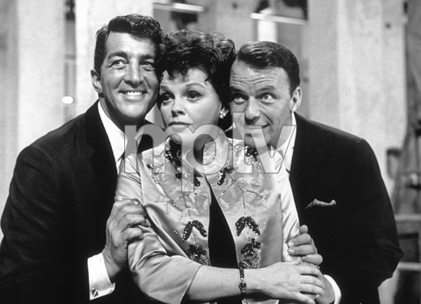 "Frank Sinatra. Dean Martin and Judy Garland on ""The Judy Garland Show Special"" on 1963Photo By Gabi Rona  - Image 0337_0302"