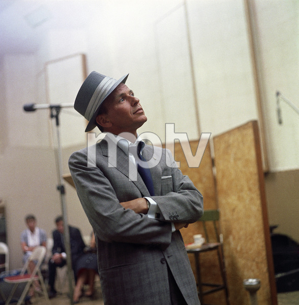 Frank Sinatra at a Capitol Records recording session in Los Angeles1954© 1978 Sid Avery - Image 0337_0506a