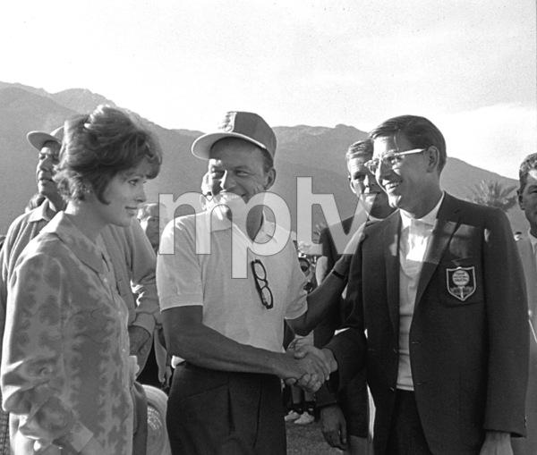 Frank Sinatra and Jill St. JohnPalm Springs, 1964 © 1978 David Sutton - Image 0337_0611