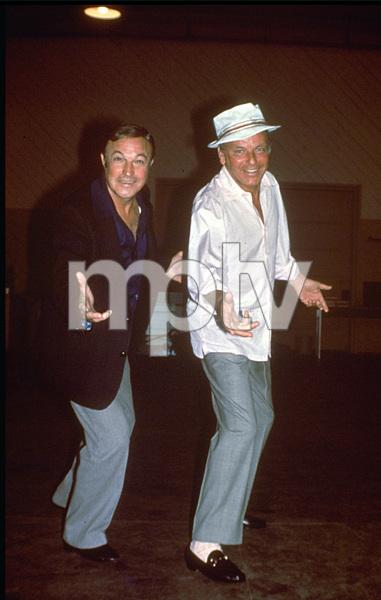Frank Sinatra and Gene Kelly1973 © 1978 David Sutton - Image 0337_0621