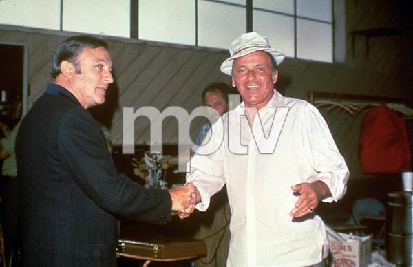 Frank Sinatra and Gene Kelly1973 © 1978 David Sutton - Image 0337_0623