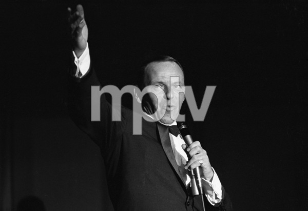 Frank Sinatra performing at the Sands Hotel in Las Vegas1964 © 1978 David Sutton - Image 0337_0637