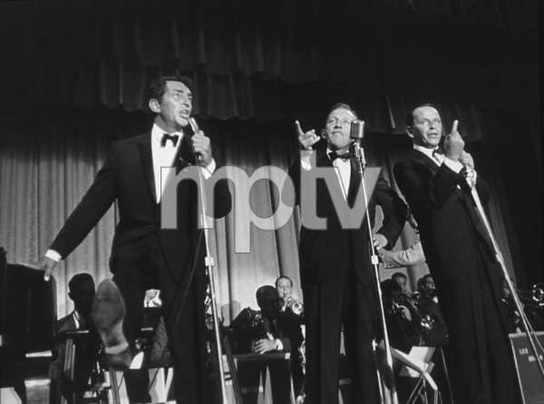 Frank Sinatra. Dean Martin and Bing Crosby in Palm Springs / 1964 © 1978 David Sutton - Image 0337_0679