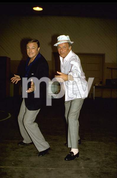 Frank Sinatra and Gene Kelly1973 © 1978 David Sutton - Image 0337_0713